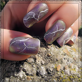 "The SNB ongles ""marbre"""