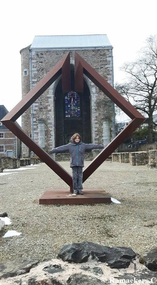 Cécile en balade à Stavelot