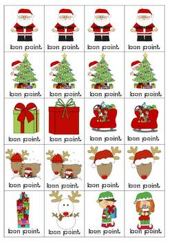BONS POINTS DE NOEL