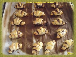 Minis-croissants au nutella