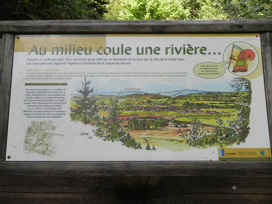 Suite de la ballade à la Source du Doubs