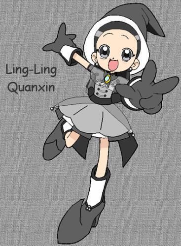 Ling-Ling en costume de saison 5 (nouvelle apprentie)