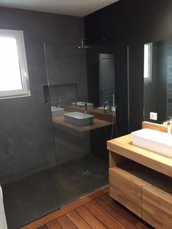 Réalisatn salle de bains par Cédric Courtade