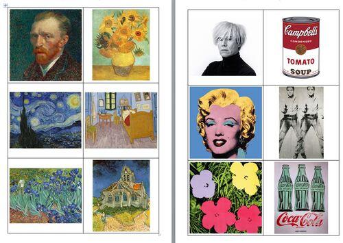 Art : Attribuer les œuvres à son auteur