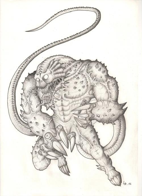 Lunadhyr (créature pour Le Dernier Bastion)