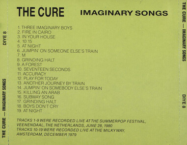 Live: The Cure - Imaginary Songs