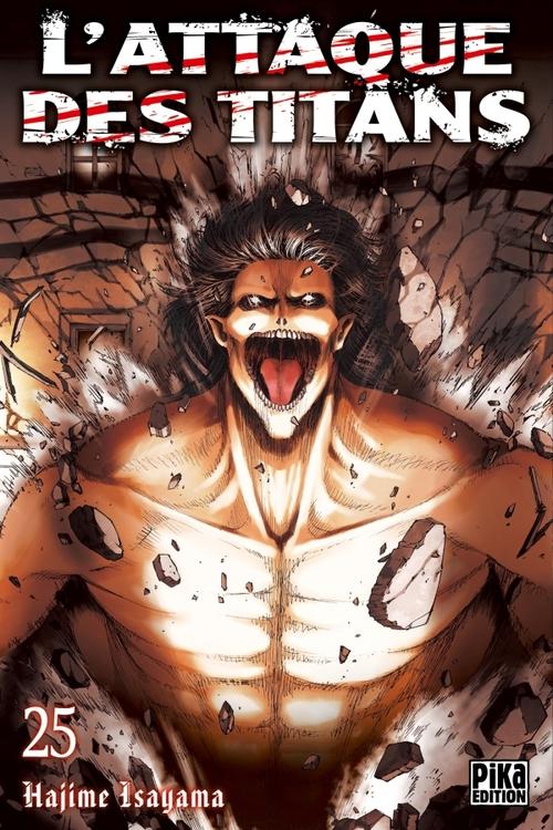 L'attaque des titans - Tome 25 - Hajime Isayama