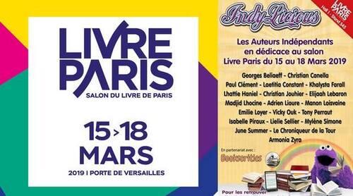 Salon du livre à Paris