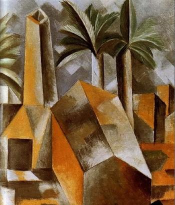 Pablo Picasso, Réservoir à Horta