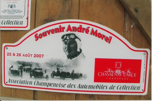 Plaques de Rallye 2007