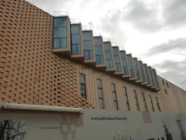 Centre des congrès à Metz.
