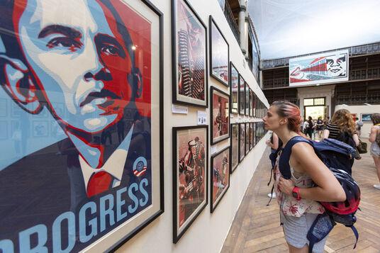 Exposition Obey: Shepard Fairey à grenoble