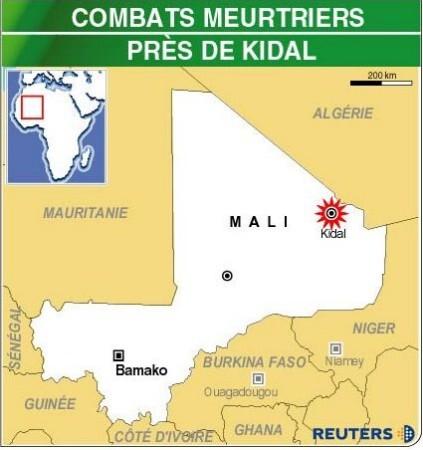 Des combats entre touaregs et l'armée font 32 morts au Mali