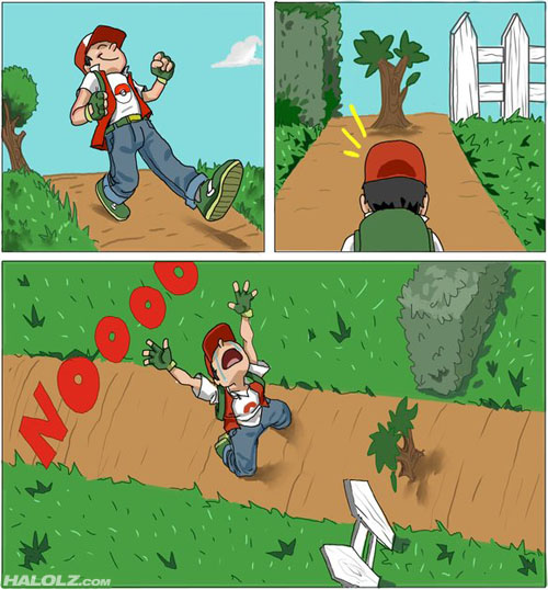 Pokemon's logic...