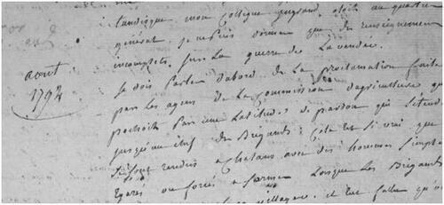 Observations sur la Guerre de Vendée par Bô....