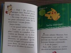 Interieur livre pokemon