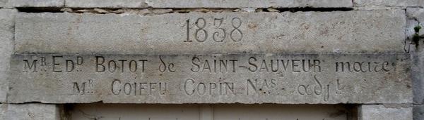 Edmond Botot de Saint-Sauveur, ancien Maire de Buncey, fut un grand bâtisseur ....