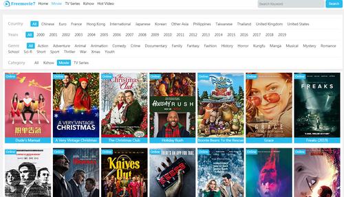 2020 HD Movie site