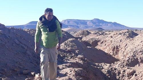 Brahim cherche le fossile oublié....