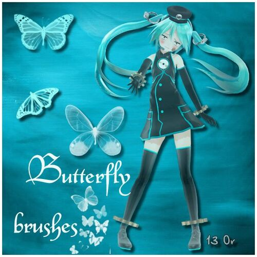 butterfly brush ou gif