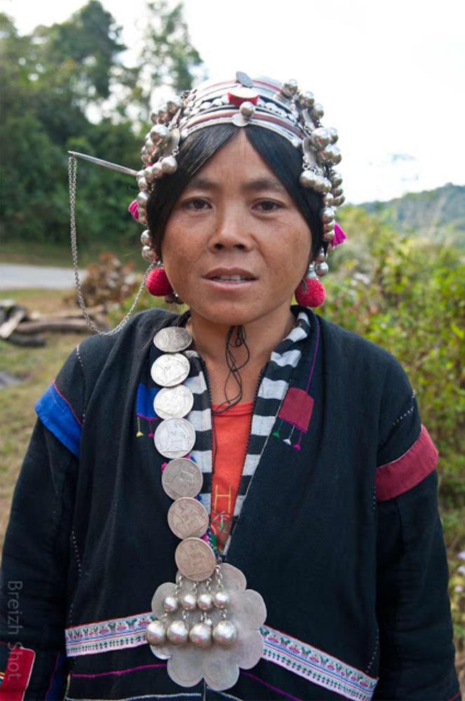 Jaquette de femme Akha - Laos