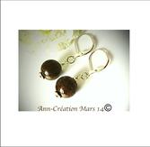 Pierres tons bruns et ambre: Jaspe, Bronzite, Pyrite, Oeil du tigre, Citrine...