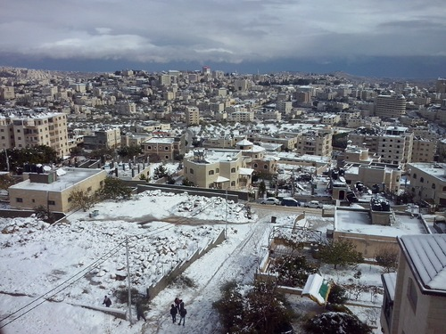 La neige à Bethléem