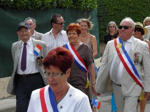* 24 Août 2015 - La Ville de SOLLIES PONT (Var) a fêté sa Libération
