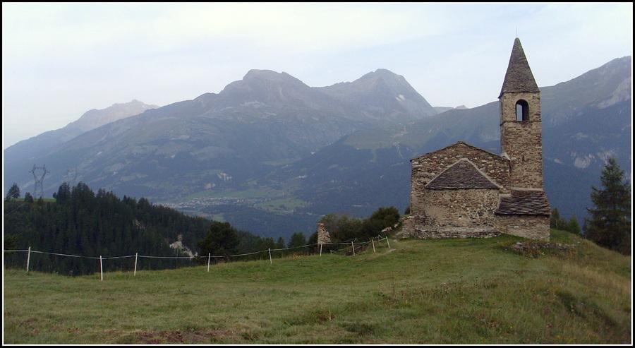 Souvenirs : sur les hauteurs de Bramans,  ( Hte Maurienne ). 1/2