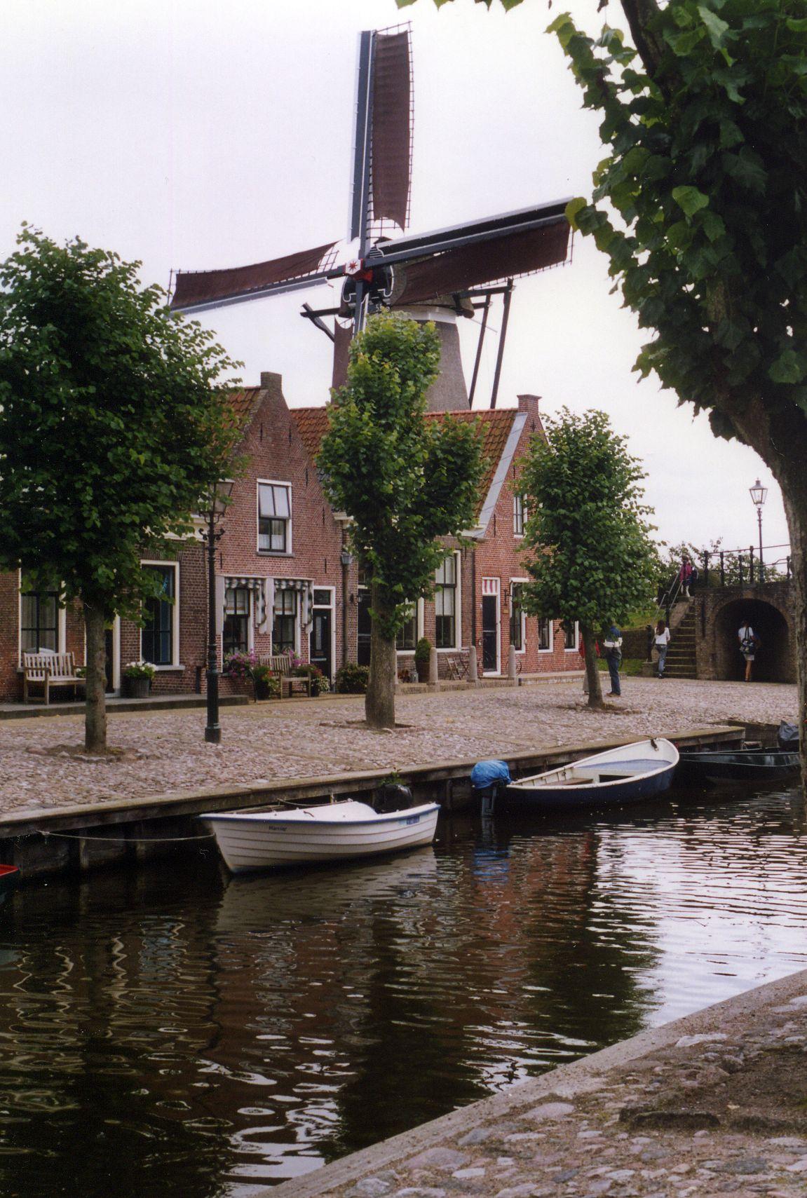 Voyage aux Pays-Bas, août 2005 (4) : Frise (Sloten, Hindeloopen, IJlst, Openluchtmuseum)