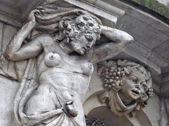 Façades de Metz 15 blanc 26 01 2010
