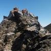 Progression vers le sommet principal du pic de Peyrelue