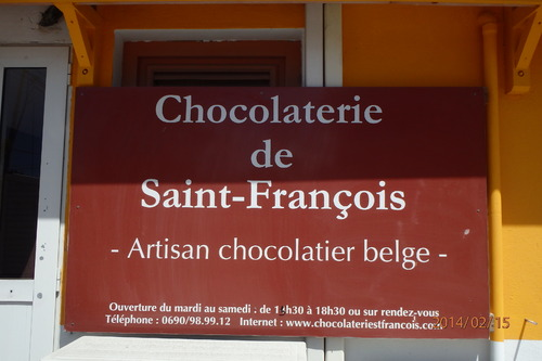 Un cadeau ...Chocolaterie de Saint François