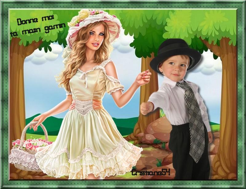 Ta main   pour blog en partage ( Princesse chanel)