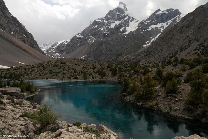 Le lac Guitara, Tadjikistan