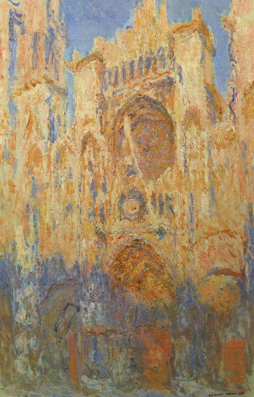 La cathédrale de Rouen de Claude Monet