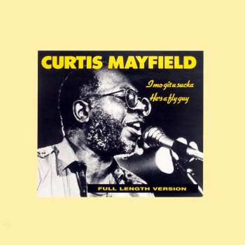 "1989 : Single SP - CD - Maxi "" Curtis Mayfield With Fishbone "" Curtom / Arista Records [ US - UK - NE ]"