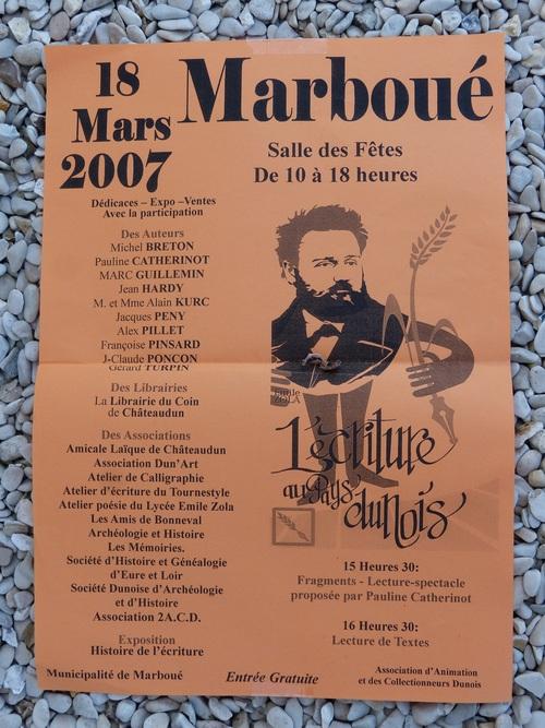 Aux origines de la biennale de Châteaudun