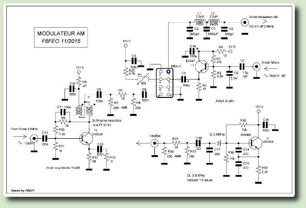 Un émetteur récepteur AM F6FEO