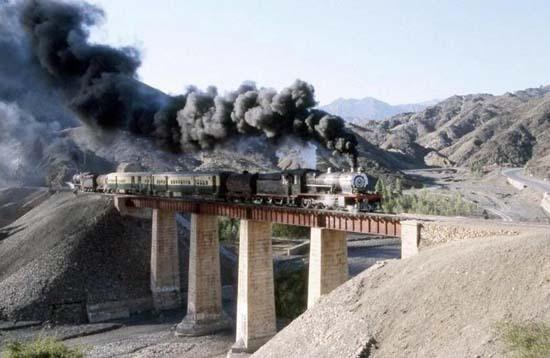 Visitez la Khyber Pass en train...