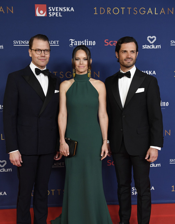 Sofia, CP et Daniel à un  gala