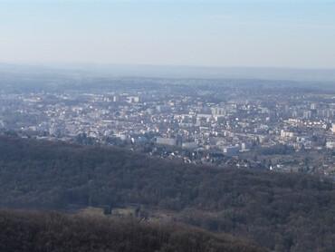 Montfaucon - Panorama sur Besançon et les alentours