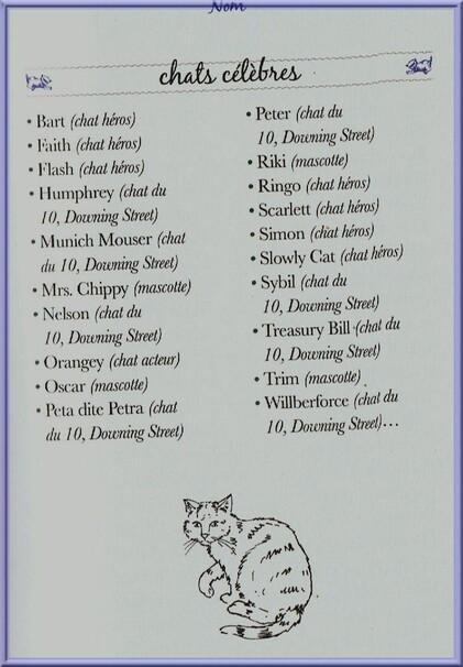 ♥ste Nom d'un chat♥