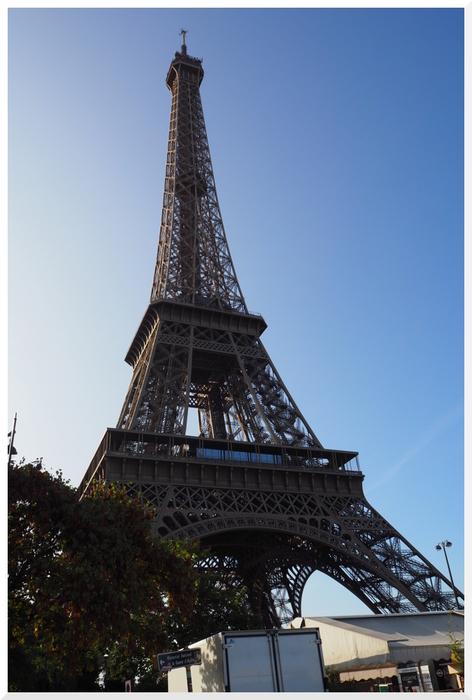 Pont  d'Iéna. Trocadéro et Tour Eiffel