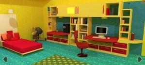 Kids room flee