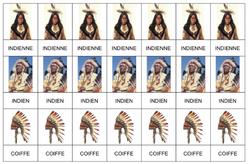 Vocabulaire - Les indiens