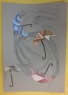 Les parapluies au vent - Art plastique Cycle 2