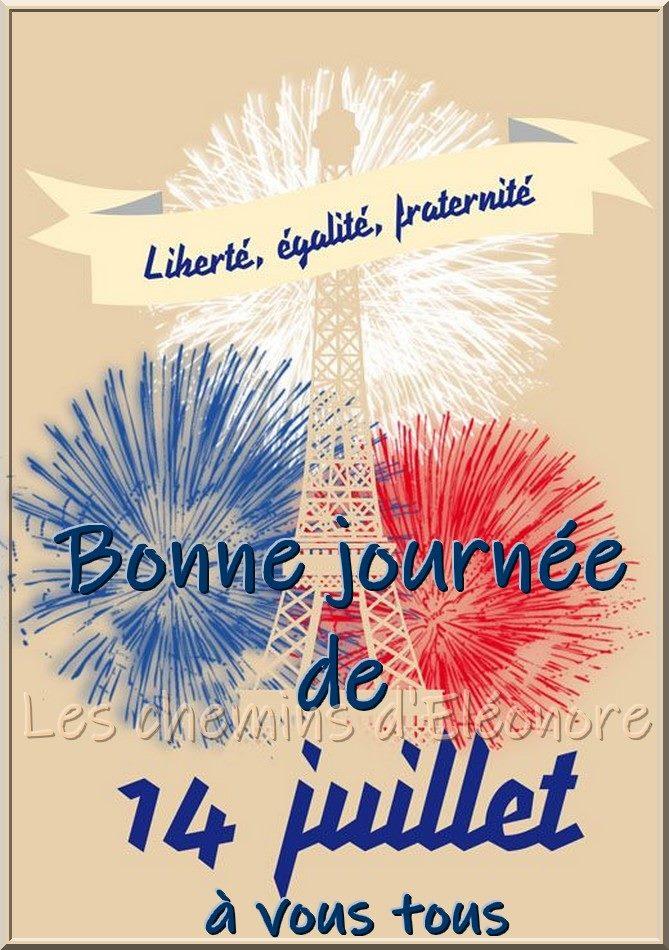 Bonne fête mes amis français !