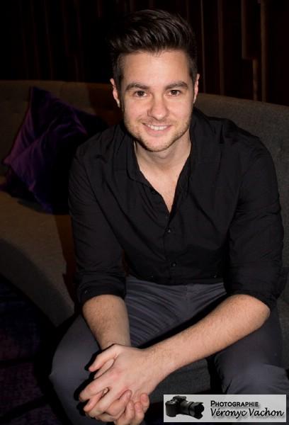 Wilfred était présent au lancement de l'album de Maxime McGraw