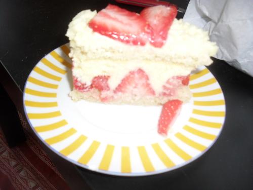 un Fraisier pour le dessert